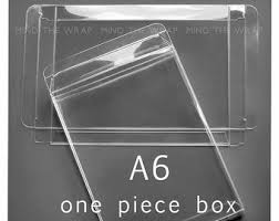 25 clear boxes for a2 cards 4 1 2 x 1 2 x 5 7 8 inch 1