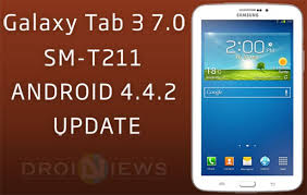 how to root android 4 4 2 update galaxy tab 3 7 0 sm t211 with android 4 4 2 kitkat firmware