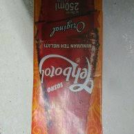 Teh Botol Sosro Kemasan Karton jual sosro teh botol original 250 ml 1 karton isi 24 pcs murah