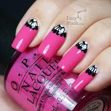 half moon manicure inspiring nail ideas
