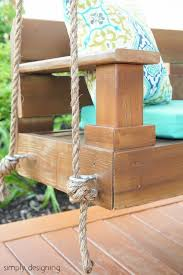 Plans For A Wooden Bench Swing by Build A Porch Swing Hometalk