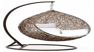 Rattan Swinging Chair Swinging Garden Chairs Wicker Swing Chair With Stand Outdoor