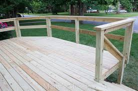 Outdoor Banister Sunburst Deck Railing