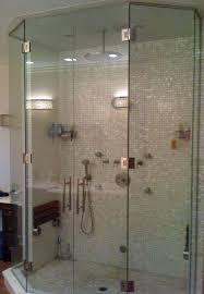 installing glass shower doors 8 best neo angle shower enclosures images on pinterest