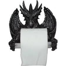 novelty toilet paper holder vampires kitchen nemesis now dragons toilet paper holder
