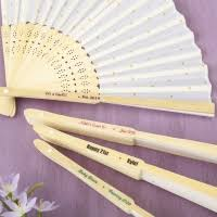 personalized folding fans wedding favor fan paper fans wedding favors unlimited