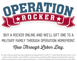 operation rocker cracker barrel country store