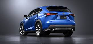 lexus nx 2017 2018 lexus nx gets a fresh face in shanghai