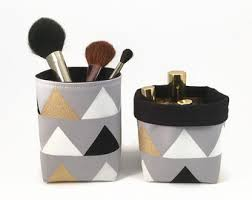 Pencil Holders For Desks Makeup Organiser Gold Makeup Brush Holder Gold Pencil