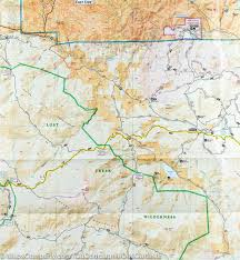 Colorado Mountain Map by Trail Map Of Tarryall Mountains Kenosha Pass Colorado 105