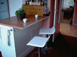 plan de travail arrondi cuisine fabriquer une table de cuisine avec un plan de travail fresh ptoir