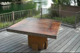 Patio Table Bentintoshape Net Announces Eco Friendly Sinker Cypress Patio And