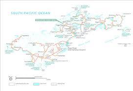 Simple World Map by American Samoa In World Map Evenakliyat Biz