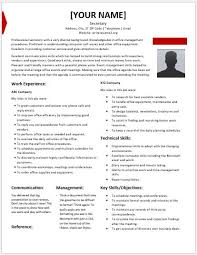 Secretarial Resume Template Secretary Resume 500708 U203a Legal Resume Preparation Legal
