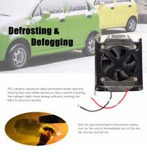 automotive heater defroster fan 12v car heater fan ceramic universal portable defroster vehicle mist