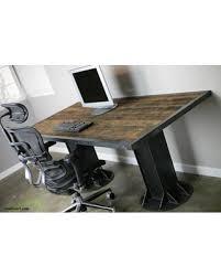 winter savings on industrial desk vintage style table reclaimed
