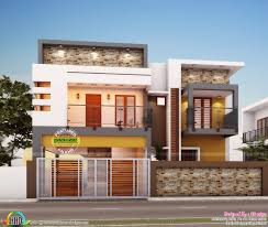215 square feet in meters 4 bedroom architecture home in contemporary style kerala home