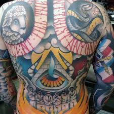 Tattoo Cover Up Ideas For Back 60 Cover Up Tattoos For Men Concealed Ink Design Ideas