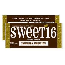chocolate candy invitations u0026 announcements zazzle
