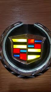 cadillac cts emblem led lighted cadillac crest