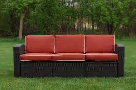 Sofa King Video by Brayden Studio Loggins Patio Sofa With Cushions U0026 Reviews Wayfair
