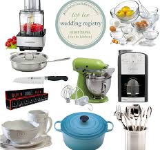 wedding registry kitchen the wedding registry top 10 kitchen must haves kitchen confidante