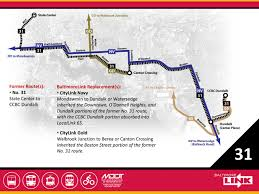 Map Route Route 31 Mta Baltimorelink