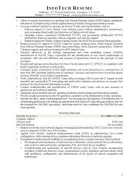 Security Specialist Resume It Resume Samples Infotechresume