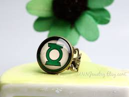 green lantern wedding ring green lantern rings womens vintage statement ring