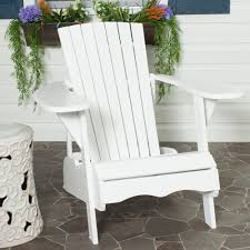All Weather Rocking Chair Safavieh Mopani All Weather Patio Lounge Chair In White 1 Piece