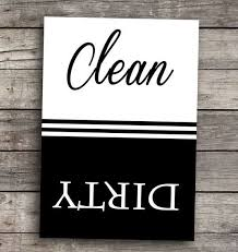 Dirty Clean Dishwasher Magnet Clean Dirty Dishwasher Magnet Dishwasher Magnet Dishwashers And