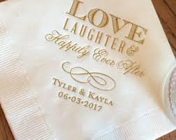 wedding napkins 100 personalized napkins personalized napkins bridal shower