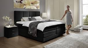boxspringbett augsburg schlafzimmer bett schwarz passenden schlafzimmer mobel wahlen