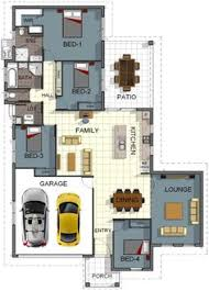 4 room house floor plan house design 4 bedrooms theatre room