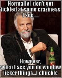 Window Licker Meme - i think i ve made my point quickmeme
