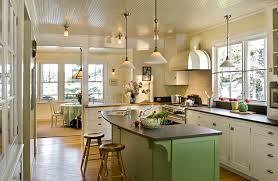 primitive decor kitchen kitchen beach style with green cabinets