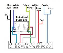 6 wire thermostat wiring color code travelwork info