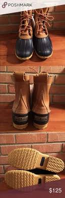 womens ll bean boots size 11 10 shearling lined tumbled leather bean boot signature 10