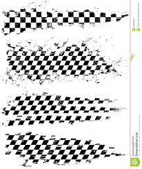 Checkered Flag Eps Checkered Flag Stock Vector Image Of Flag Effect Textured