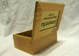 personalized wooden keepsake box wooden keepsake box wedding engagement