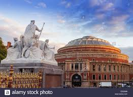 Royal Albert Hall Floor Plan by A Statue On The Albert Memorial And The Royal Albert Hall London