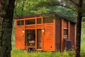 architect designed tiny home offers downsized living in a refined