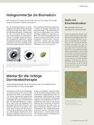 Hologramm Le Mpf 1 17 Max Planck Forschung