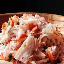 cuisiner le surimi recette émietté de surimi