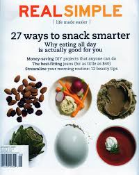 real simple magazine covers real computer graphics distance fa10 compare contrast two magazine covers