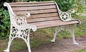 how to restore a worn or broken garden bench