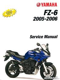 2006 yamaha fz6 service manual