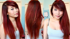 Colors To Dye Brown Hair Dying Hair Red At Home Drugstore Box Dye Youtube