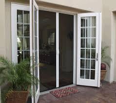Screen Doors For Patio Doors Casper Retractable Disappearing Door Screens My