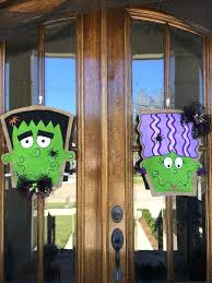 Frankenstein Door Decoration Burlap Snowman Door Hanger Pattern Burlap Snowman Door Hanger Mud